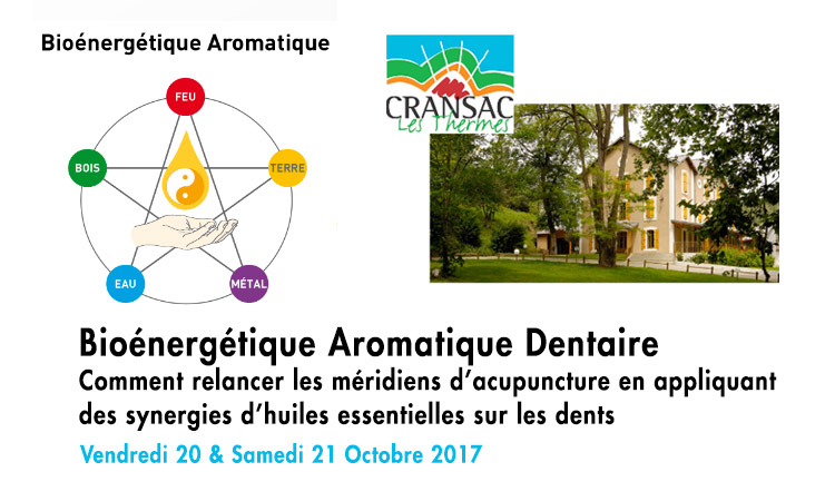 Formation «Bioénergétique Aromatique Dentaire» - ODENTH