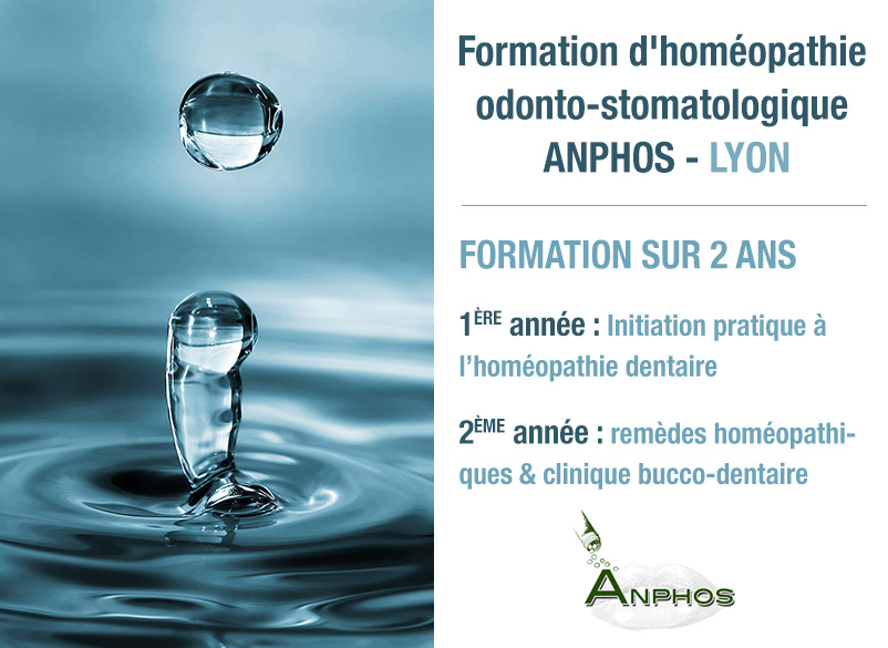 formation homéopathie dentaire anphos