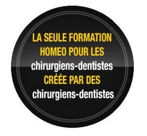 La seule formation homéo-odontologique faite pour les chirurgiens-dentistes et par des chirurgiens-dentistes