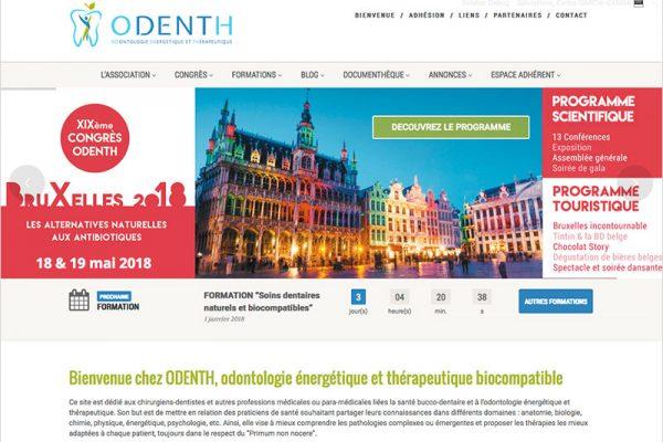 Nouveau site internet Odenth