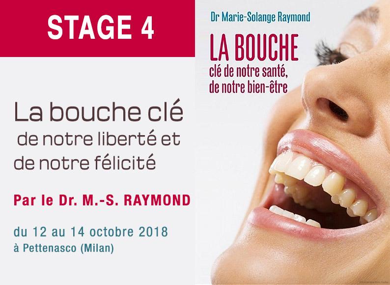 Formation dentiste stage 4 par le Dr Marie-Solange RAYMOND