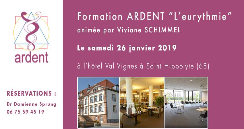 Formation association ARDENT EURYTHMIE par Viviane SCHIMMEL