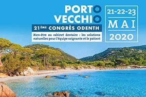 21ème Congrès Odenth 2020 à Porto Vecchio - Du 21 au 23 mai 2020
