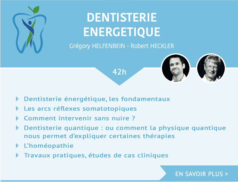 Formation odenth DENTISTERIE ENERGETIQUE